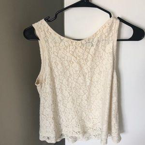Lace summer shirt banana republic